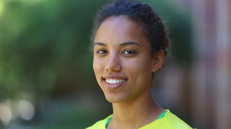German Studies undergraduate Brandi Ransom awarded a Knight-Hennessy Fellowship at Stanford.